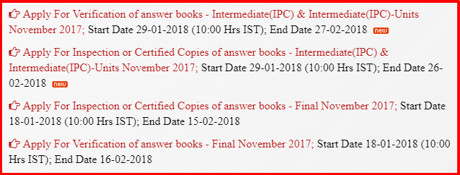 Icai verification or revaluation of marks procedure capital trainers icai verification of answer books procedure spiritdancerdesigns