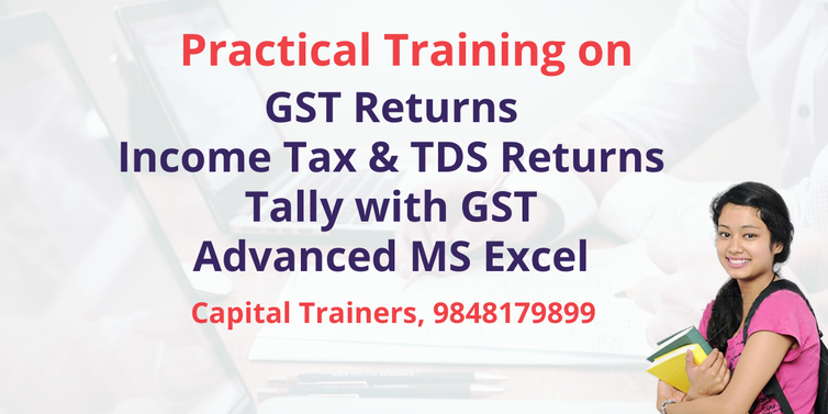 taxation practical training in hyderabad