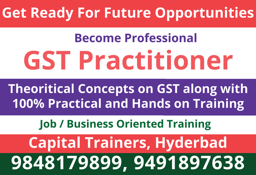 GST Practitioner Training in Ameerpet