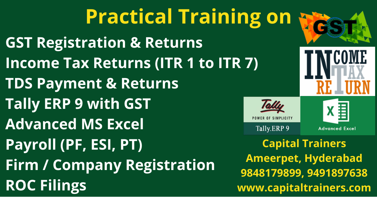taxation training course